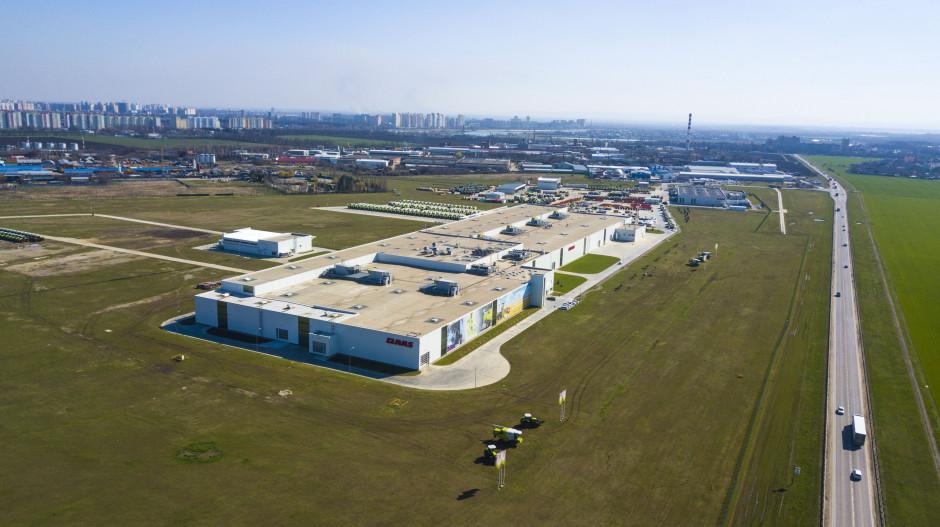 Fabryka firmy Claas w Krasnodarze będzie po raz kolejny rozbudowywana fot. mat.prasowe