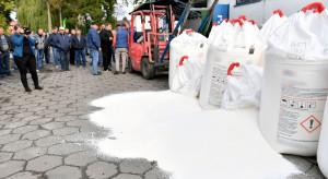 Protest rolników przeciwko podwyżce o ok. 300 proc. ceny za saletrę
