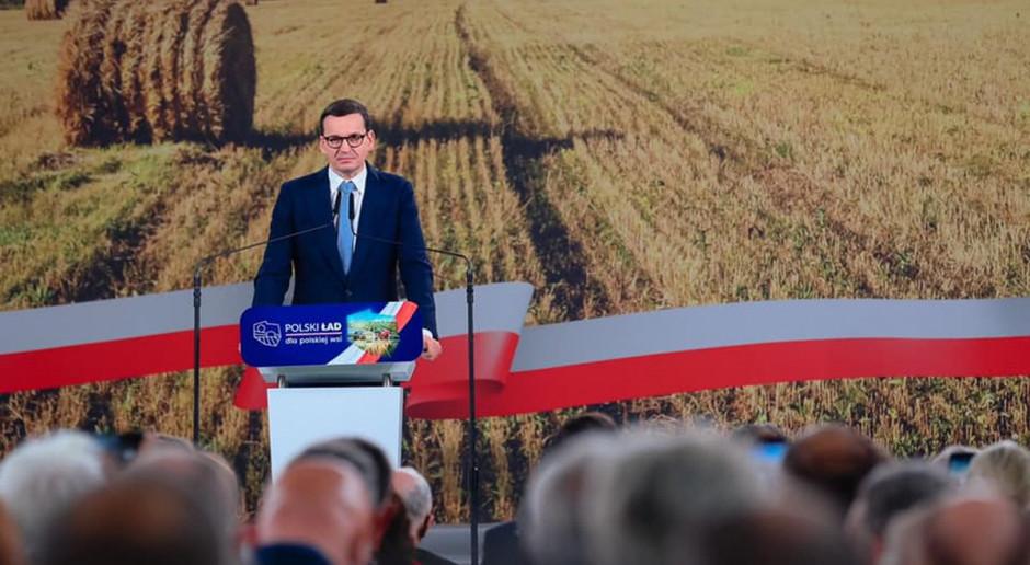 Morawiecki: kto nie szanuje polskiej wsi, nie ma szacunku dla Konstytucji i suwerenności