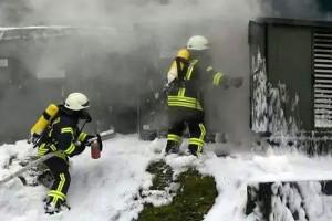 Wybuch transformatora w biogazowni